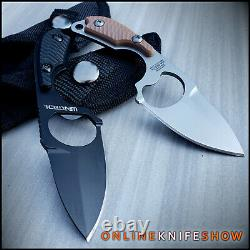 2PC FIXED BLADE TACTICAL HUNTING SURVIVAL BOOT KNIFE Military Army Bottle Opener