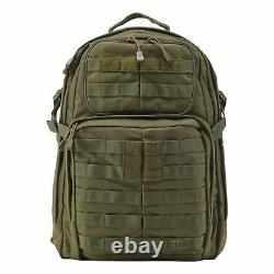 5.11 Tactical RUSH 24 Backpack Combat Military Day Rucksack Tac OD
