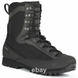 AKU Pilgrim HL GTX Mens Combat Military Police Waterproof Tactical Boots Black
