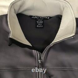 Arcteryx LEAF 10365 Men's Bravo Softshell Tactical Jacket Wolf Grey XL Combat