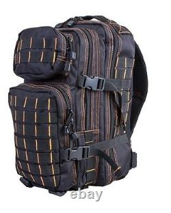 Army Military Tactical Combat Rucksack Backpack Molle Day Pack Bag 28L New Black