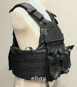 Assault Combat Tactical Military Vest Molle Adjustable Gunner Plate Carrier US