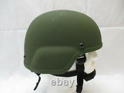 Ballistic Military Tactical Army Combat Helmet Ach Mich Tc2000 Od Green Large