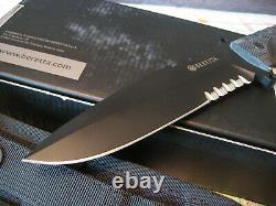 Beretta TKX 120 Fixed Tactical Combat Knife GREY FX C043 Fox w Sheath Italy NIB