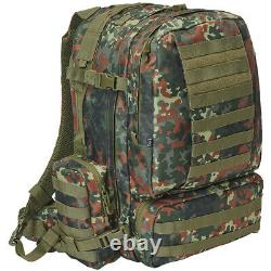 Brandit Us Army Cooper 3-Day Tactical Combat Molle Pack Military Bag Flecktarn
