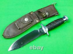 Brazilian Brazil GARCIA Army Military Survival Saw Back Tactical Fighting Knife