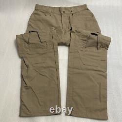 CRYE PRECISION COMBAT PANT LE01 Khaki 34R Military Tactical Made in USA NEW NWOT