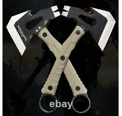 Camping Survival Axe Multifunction Army Military Emergency Fire Tactical Combat