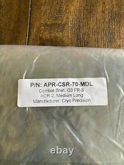 Crye Precision DriFire AOR2 Combat Shirt MEDIUM/LONG Tactical Military AOR1