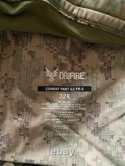 Crye Precision G3 DriFire AOR2 Combat Pants 32 Regular Tactical Military