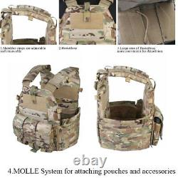 Emerson Military Tactical Airsoft Vest Paintball Molle Plate Carrier Combat Vest