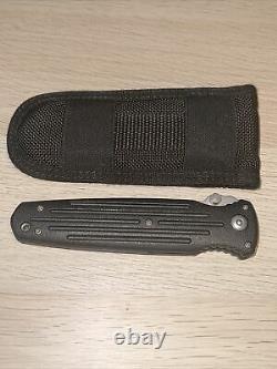 Gerber Applegate Fairbairn Combat Folder with nylon sheath Made in USA