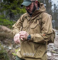 HELIKON TEX ANORAK PILGRIM Jacket Combat Tactical Hooded Outdoor Bushcraft Parka