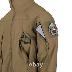 HELIKON TEX BLIZZARD StormStretche Jacket Combat Tactical Hooded Bushcraft New