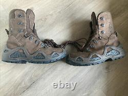 LOWA Z-8s GTX Dark Brown Military Tactical Combat Arms Boots US8.5 GORE-TEX