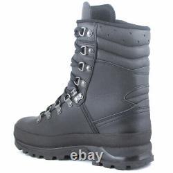 Lowa COMBAT GTX Waterproof Gore-Tex Military British Army Tactical Boots Black