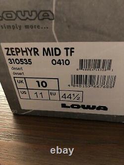 Lowa Zephyr GTX Mid TF Hiking Boots, Desert, US 11
