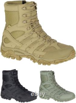 MERRELL Moab 2 8 Waterproof Tactical Military Army Combat Desert Boots Mens New