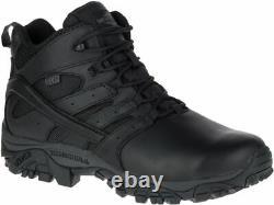 MERRELL Moab 2 Mid Response Waterproof J45337 Tactical Army Combat Boots Mens