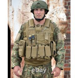 MIL-TEC M. RELEASE MOLLE Real Battlefield Military Tactical Combat Vest Pouches