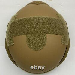 M/L Coyote Brown Tactical Combat Military Bump Helmet MICH-2001 Fast Shipping