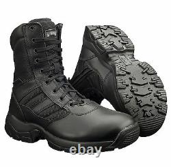 Magnum Panther 8.0 Side Zip Tactical Leather Combat Army Police Boots UK4-15