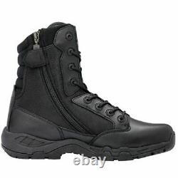 Magnum Viper Pro 8.0 Black Side Zip Boots Mens Combat Tactical Police Boot