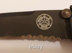 Masters of Defense Tactical Knife Folding Combat Drop Point Knife