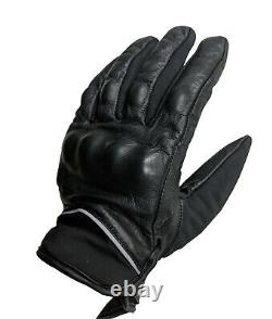 Men Military Real-Leather Tactical Combat Gloves Protection Police Army Security
