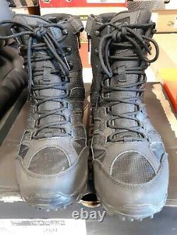 Men's Merrell 8 Moab 2 Tactical Side-Zip Waterproof Boots 10.5 M FREE SHIPPING