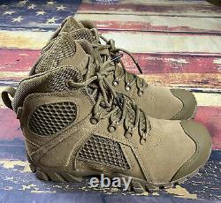 Mens Bates Waterproof Tactical Boots Coyote Brown Shock FX hunt hiking work 10
