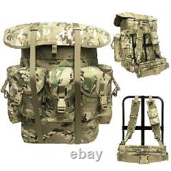 Military ALICE Pack Combat Tactical Army Backpack withFrame Multicam