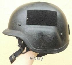 Military Issue PASGT Tactical Ballistic Combat Helmet Size Medium