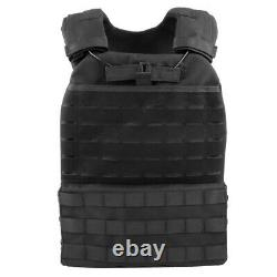 Military Tactical Vest MOLLE Plate Carrier for SWAT Police Airsoft Army Combat