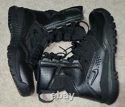 NEW 9.5 Men's Nike Special Field 2 Boot Tactical Black Military Boot AO7507-001