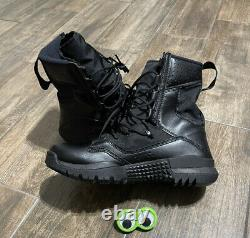 NEW Nike SFB Field 2 8 Military Combat Tactical Black Boots Men's Size 10