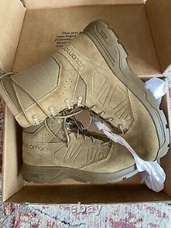 NEW Salomon Forces Guard 4D Burro Military Breathable Tactical Boots Ranger 14