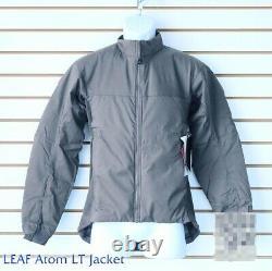 New Arcteryx LEAF Atom Jacket LT Wolf Men tactical combat insulation 14282