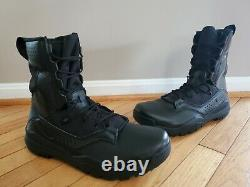 Nike Field 2 8 Black Military Combat Tactical Boots AO7507-001 Men's Size 12