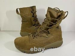 Nike SFB Field 2 8 Leather Tactical Men Size 10.5 Coyote Combat Boot AQ1202-900