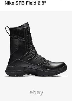 Nike SFB Field 2 8 Military Combat Tactical Boots Men's Size 8.5 AO7507-001