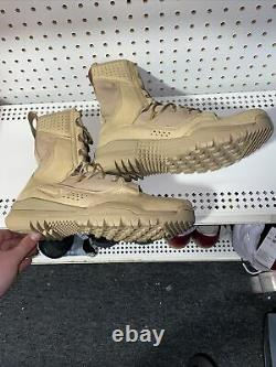 Nike SFB Field 2 Mens 8 Tactical Hiking Military Combat Boots Size 9.5 Desert