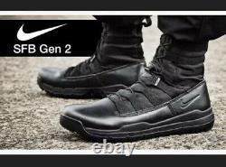 Nike SFB GEN 2 Black 8 Military Combat Tactical Boots 922474-001 Mens 13 NEW