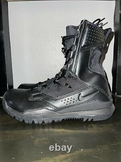 Nike Sfb Field 2 8 Black Military Combat Tactical Boots Ao7507-001 Sz 10