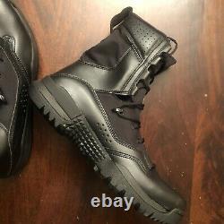 Nike Sfb Field 2 8 Black Military Combat Tactical Mens Boots Sz 12 Ao7507-001