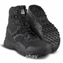 Original S. W. A. T. 177001 Men's Alpha Fury 8 Black Uniform Tactical Boots Shoes