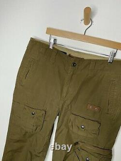 Polo Ralph Lauren 34 Military Green Cargo VtG Pants RRL 36 Army Combat Tactical