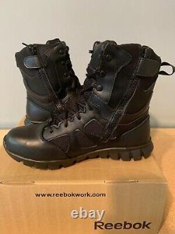 Reebok Work RB8806 Tactical Boots Waterproof Side Zip