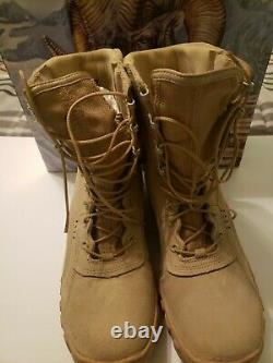 Rocky 105 S2V US Made Berry Compliant Desert Tan Tactical Military Combat Boots