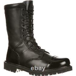 Rocky 2090 Side Zip 10 Lace Up Polishable Military Combat Tactical Jump Boots